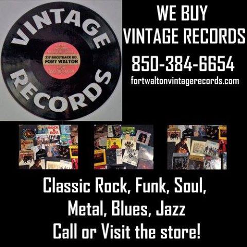 We Buy Vinyl Records | Fort Walton Vintage Records